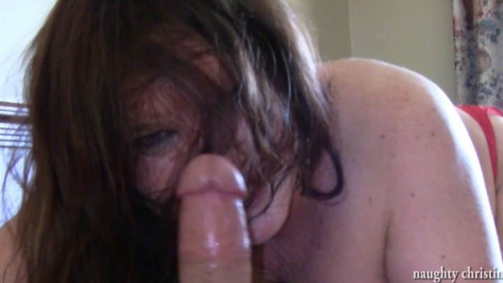 Naughty Christine Stranger With A Perfect Cock