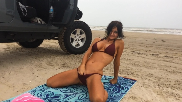 Naughty1Nextdoor Bad Dragon At The Beach