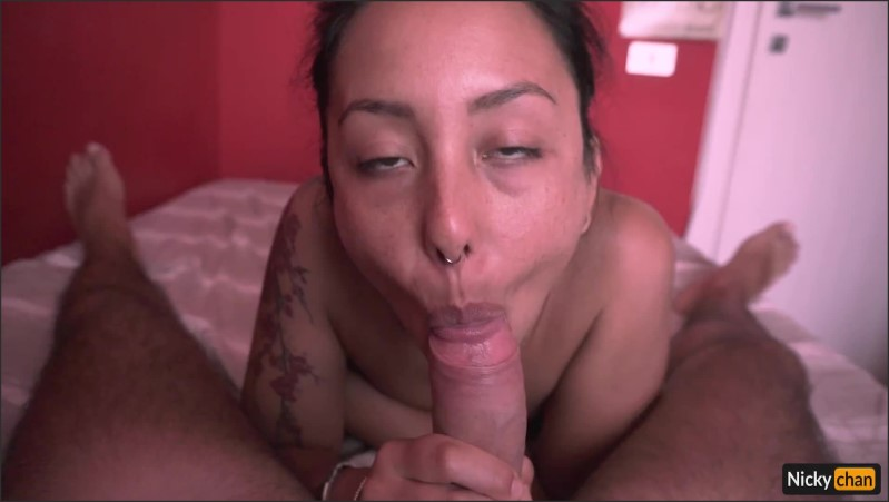 [Full HD] Asian Teen Loves To Worship Cock  - Nicky-Chan - -00:15:23 | Wrinkled Soles, Tonguejob - 303,1 MB