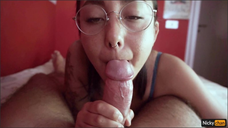 [Full HD] This Blowjob From This Submissive Japanese Girl Is Absolutely Mind Blowing  - Nicky-Chan - -00:22:20 | Teen, Tattooed Women, 60Fps - 553,7 MB