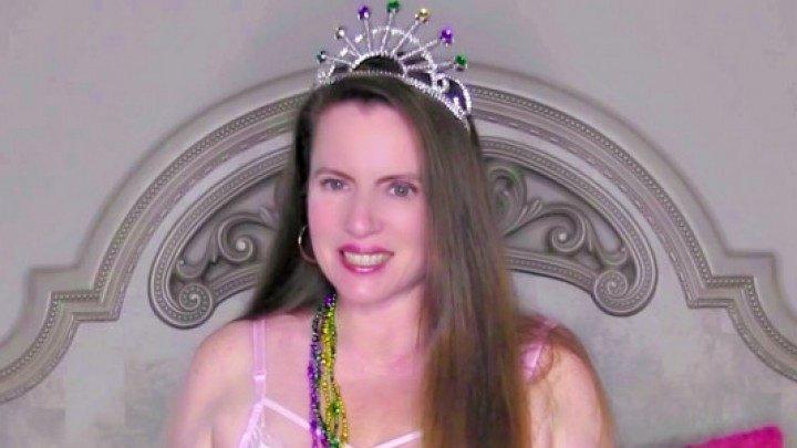 Nikkinevada Mardi Gras Princess Masturbation
