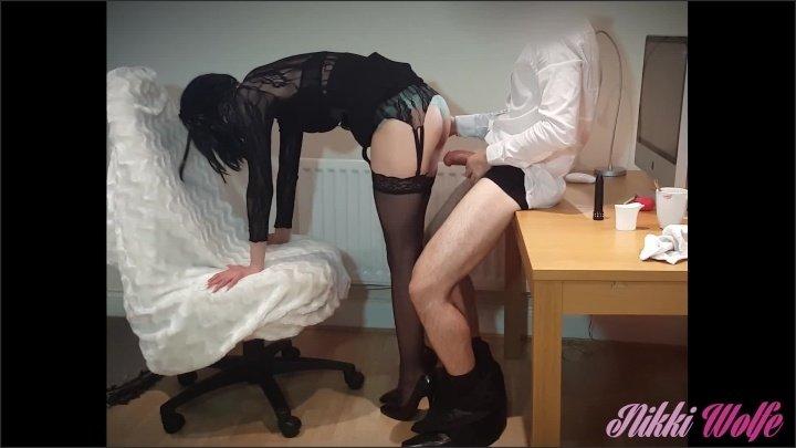 [Full HD] 13 Nikki The Slutty Secretary Wants Cream In Her Tea Part2 Nikki S We 4 - NikkiWolfe - - 00:06:58 | Sexy Outfit Amateur, High Heels, Babe - 112,7 MB