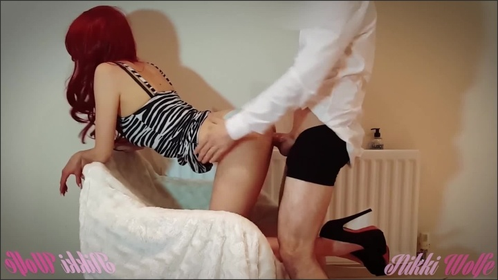 [Full HD] Hot Babe In Tight Zebra Dress Make Him Cum Twice In Her Panties - NikkiWolfe - - 00:15:01 | Doggystyle, Gorgeous - 231,2 MB