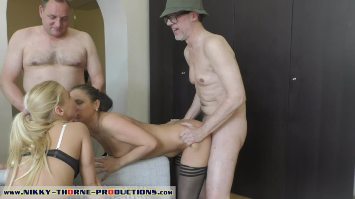 Nikkythorne Prod Family Threesome Fucking 03 Grandpa