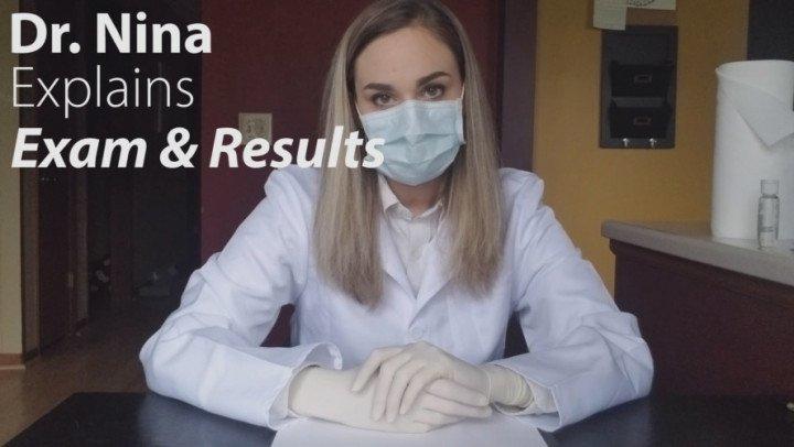 Nina Crowne Dr Nina Explains Exam And Results