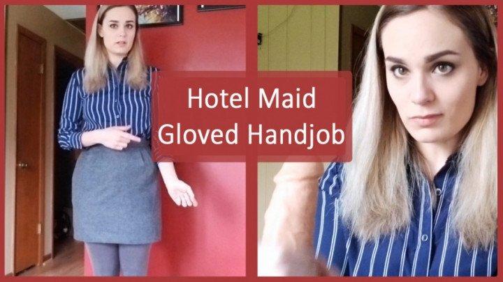 Nina Crowne Hotel Maid Gloved Handjob