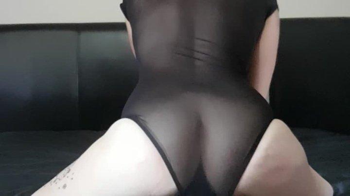 Nymphnova Thigh High Boots Body Suit Fist Fuck
