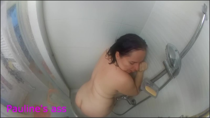 [HD] Fart Under The Shower  - PaulineMaxx - -00:11:53 | Fetish, Milf, Kink - 90,4 MB