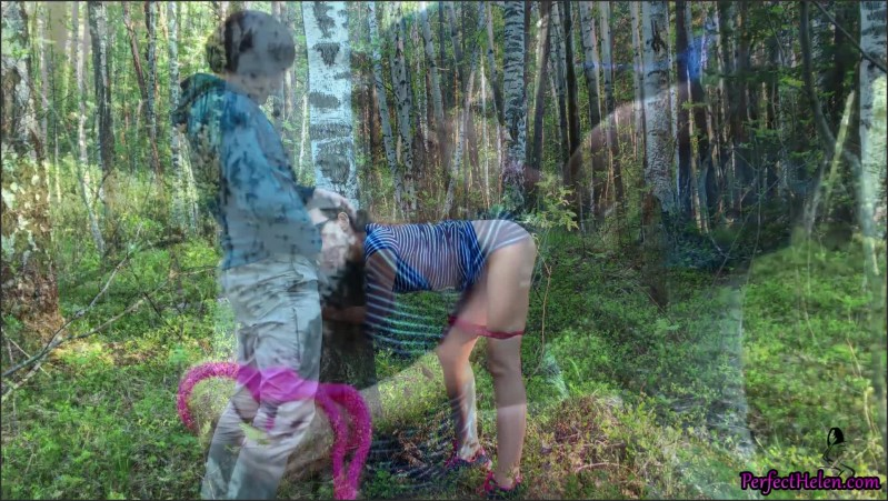 [Full HD] Wife Suck And Hard Doggy Sex Outdoor In The Wood Bondage Sex - PerfectHelen - -00:07:57 | Verified Amateurs, Sex, Blowjob - 254 MB