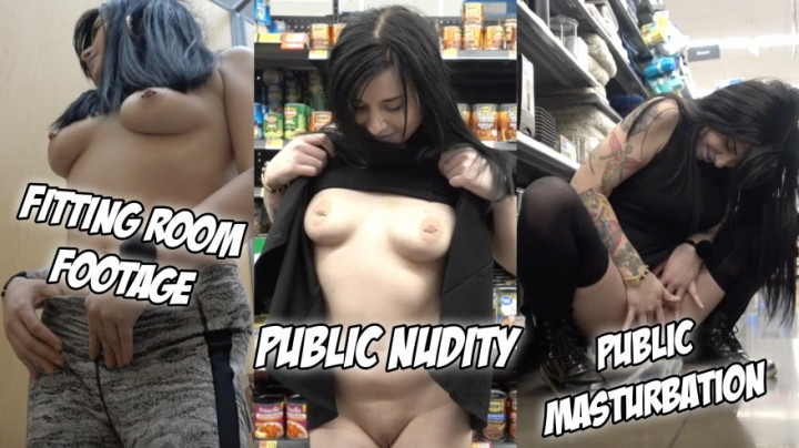 [HD] Phoebe Phelpz Pheebz Gone Wild At Walmart - Phoebe Phelpz - ManyVids - 00:04:37 | Exhibitionism, Fitting Rooms - 153,9 MB