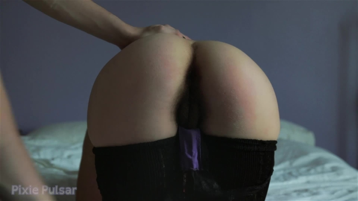 Pixie Pulsar Bare Handed Spanking