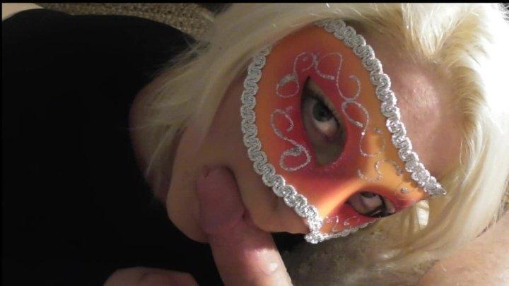 Princess Poppy Masked Pov Blowjob