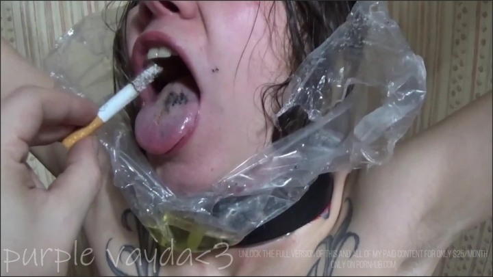 [Full HD] Purple Vayda Piss Bag Master Puts A Bag Over My Head And Pisses In It Human Ashtray - Purple Vayda -  - 00:04:17 | Babe, Teenager - 104,6 MB