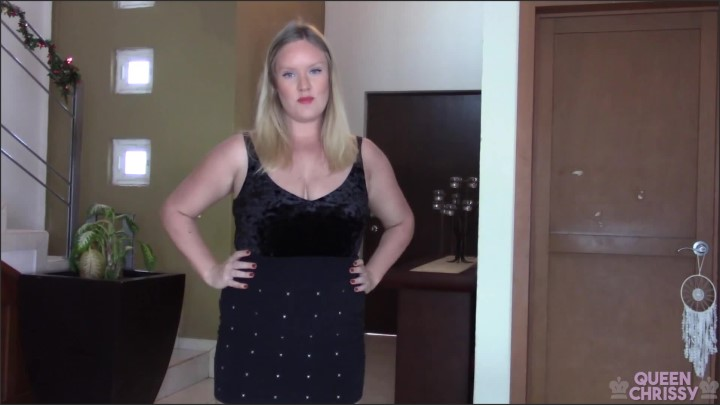 [Full HD] Eat It Or Else - Queen Chrissy - - 00:10:42 | Femdom, Verified Amateurs - 204,3 MB