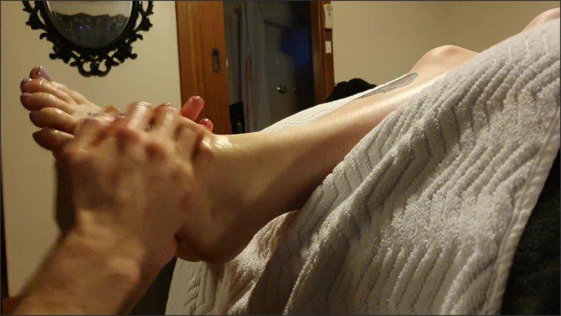 [Full HD] My Foot Slave Learning How To Massage My Feet  - QueenAmityMae - -00:06:17 | Foot Massage, Tattooed Women - 123,7 MB