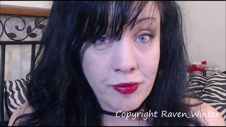 Raven Winter Eyes Wide Open Eye Fetish Clip 1080Hd