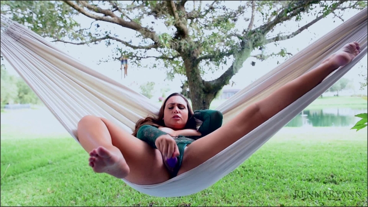 Renna Ryann Relaxing In The Hammock