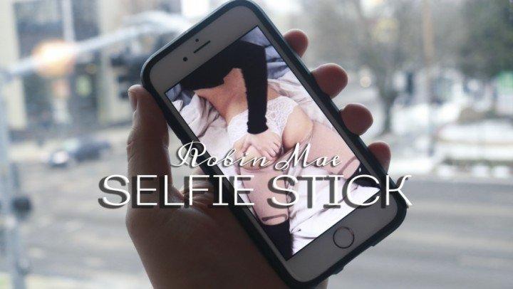 Robin Mae Selfie Stick Intimate Bg Iphone Video