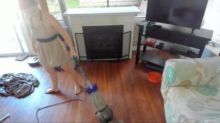 Rowen Oak Houseclean Maid Spy Cam