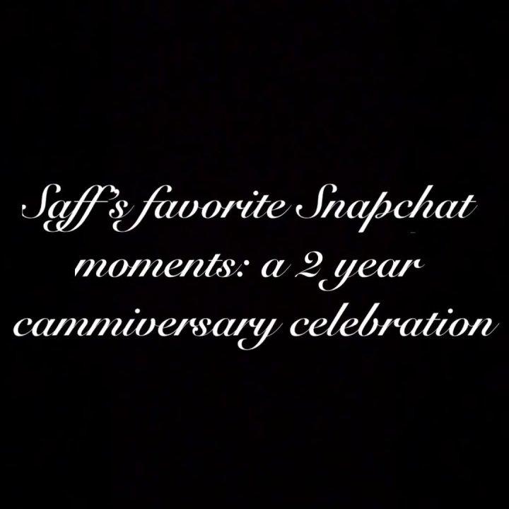 Saffron Snapchat Tease Compilation