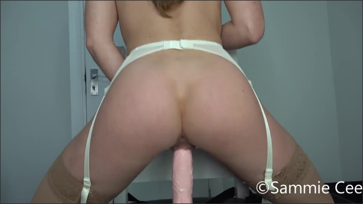 [Full HD] Dildo Ride Creampie - Sammie Cee - - 00:11:53 | Female Orgasm, Orgasm, Lingerie - 200 MB