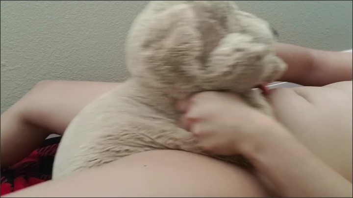 [Full HD] Plushie Doggie Hump Quickie - Sapphire Angel - - 00:06:20   Lotion, Toy - 301,7 MB