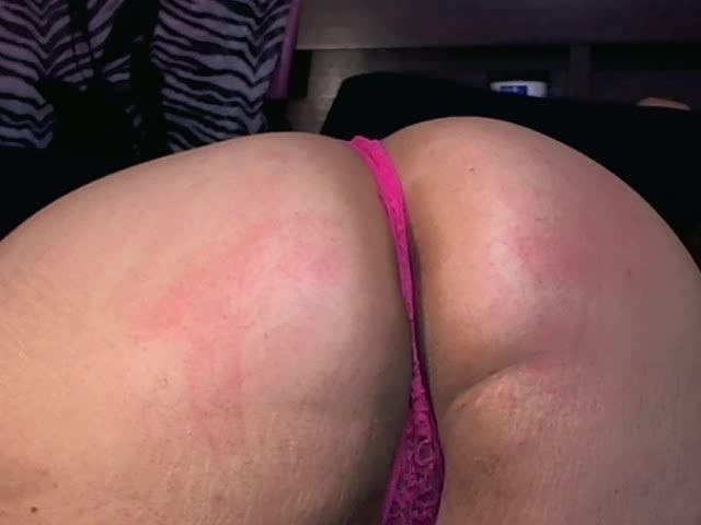 Sarastar Bbw Spanked Ass