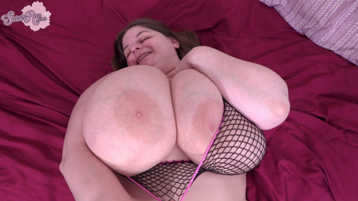 Sarah Rae Big Boobs Fishnet Titfuck