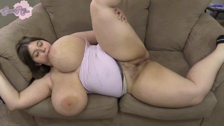 Sarah Rae Miniskirt Masturbation