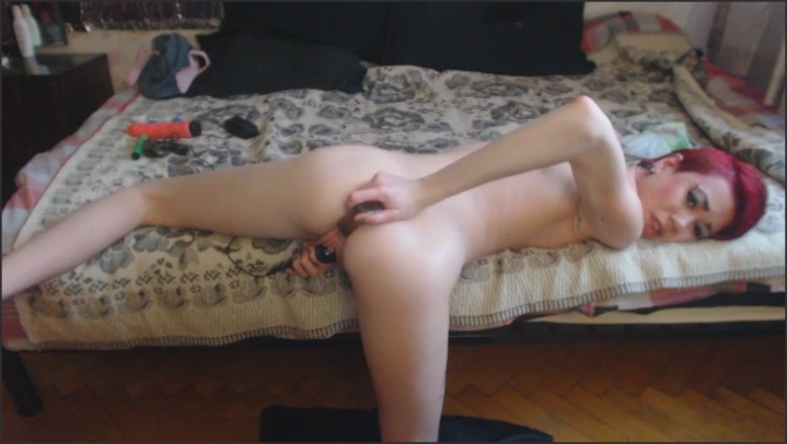 Sasha Anal And Hitachi Cum On Tummy