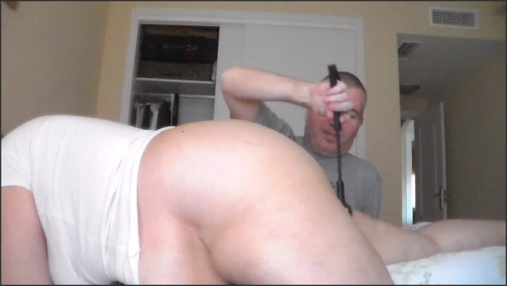 Sexazul Spanking Her Ass With A Toy