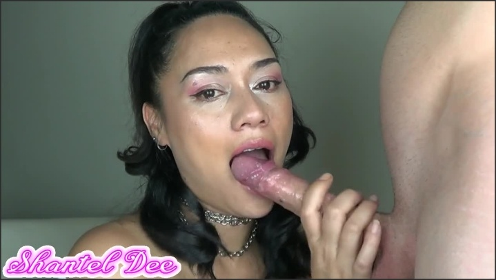 [HD] Hot Babe Gives Deepthroat Blowjob - ShantelDee - - 00:05:58   Big Cock, Babe - 65,1 MB