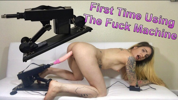 Teen First Time Using Vibrator
