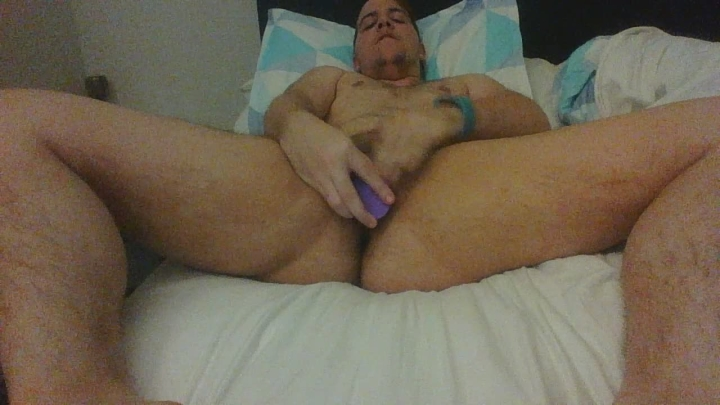 Bifemmeboy Morning Masturbation Session