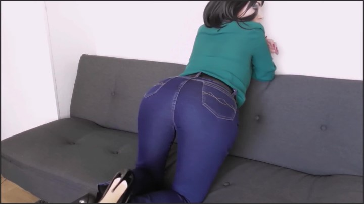 [Full HD] Mom Jeans Fetish Belt Femdom - Sissi Viter - - 00:09:11 | Fetish, Dominant Mom, Jeans Tease - 233 MB
