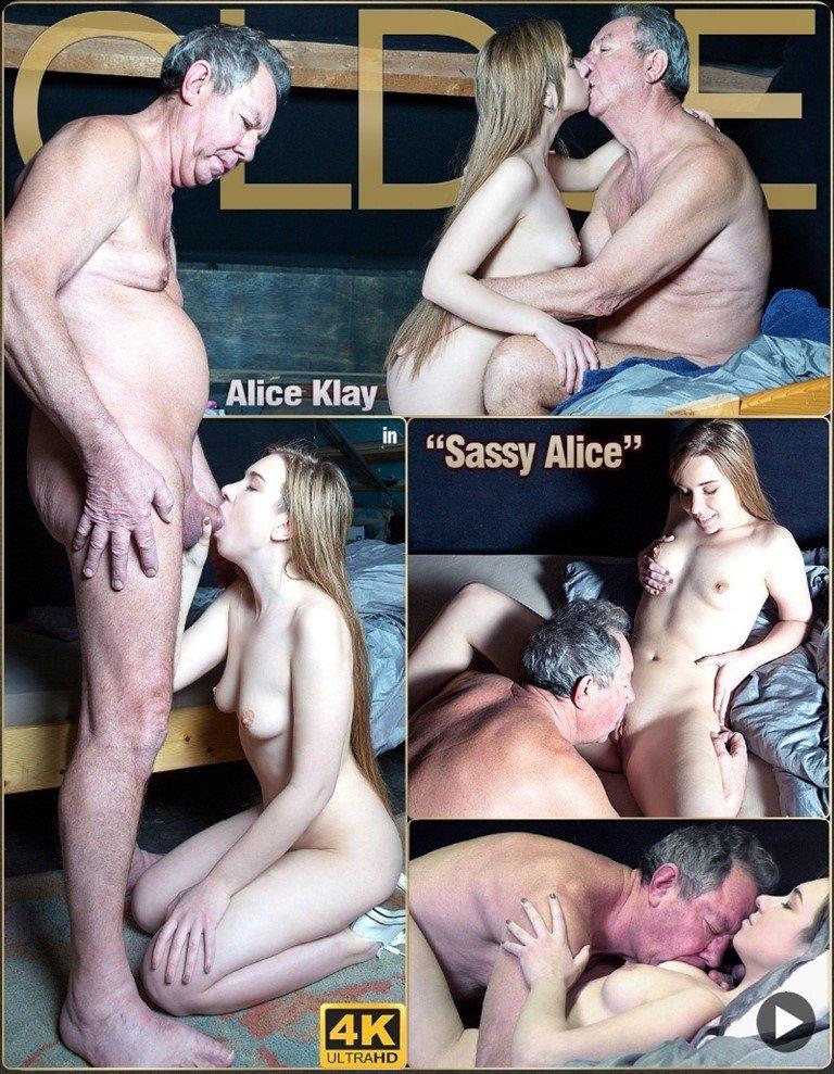 [Full HD] Oldje №692 - Sassy Alice - Alice Klay Mix - SiteRip-00:22:54 | Ballslicking, Cumlicking, Closeup - 495,9 MB