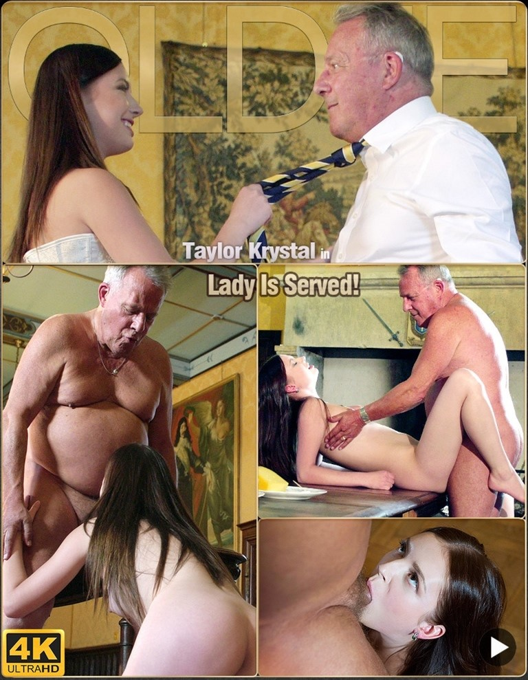 [Full HD] Oldje №688 - Taylor Krystal - Lady Is Served Mix - SiteRip-00:18:56 | Ballslicking, Closeup, Cumswallow, Brunette, Cumeating, Doggystyle, Deepthroat, Blowjob, Cunnilingus - 862,4 MB