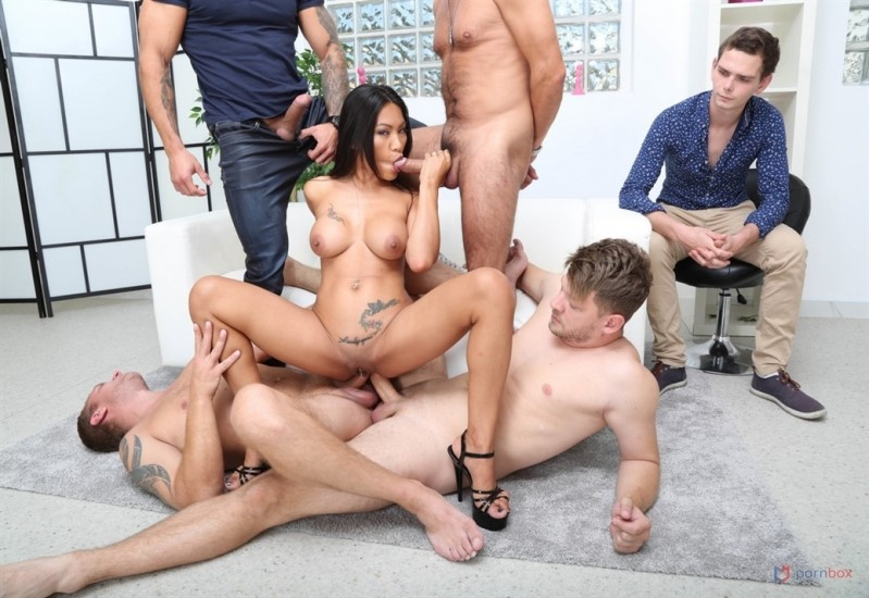 [HD] Cuckold Dream With Polly Pons, 4On1 Balls Deep Anal, DAP - Polly Pons - SiteRip-00:51:15 | Dap, Gangbang - 1,7 GB