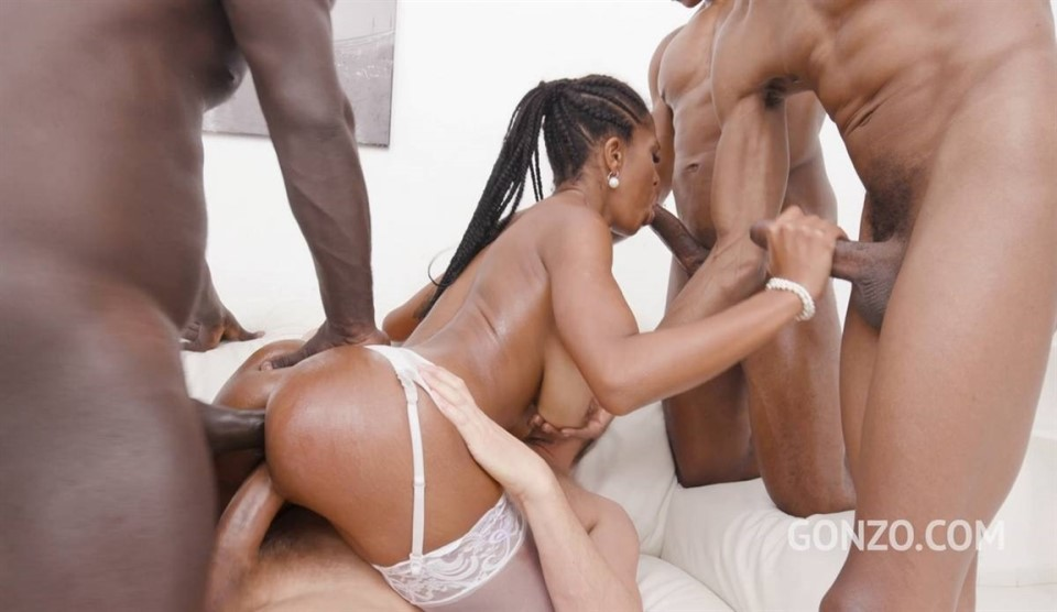 [Full HD] Ebony Slut Tina Fire Welcome To Gonzo With 4On1 Double - Tina Fire - SiteRip-01:07:37 | Latina, Airtight, Anal - 5,8 GB