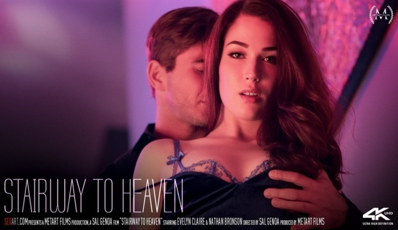 [Full HD] Evelyn Claire &Amp; Nathan Bronson - Stairway To Heaven - Evelyn Claire - SiteRip-00:13:27   Indoors, Cum Shot, Tattoo - 762,7 MB