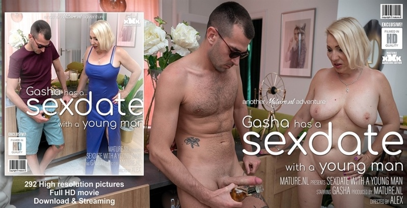 [Full HD] Gasha - Mature Gasha Has A Sexdate With A Younger Man - Gasha - SiteRip-00:31:59 | Blonde, Big Natural Tits - 1,4 GB