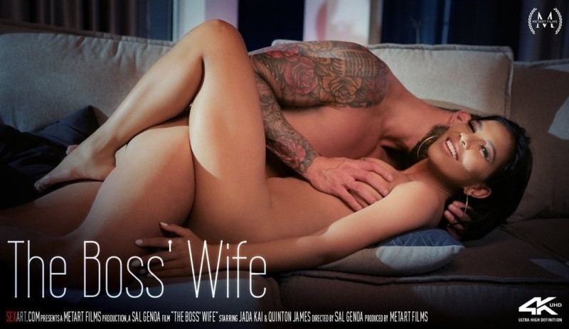 [4K Ultra HD] Jada Kai &Amp; Quinton James - The Boss' Wife - Jada Kai - SiteRip-00:15:42 | All Sex - 2,2 GB