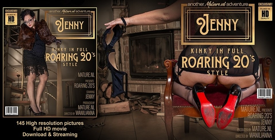[Full HD] Jenny - Classy Jenny Loves Getting Kinky In Roaring 20'Style Jenny (42) - SiteRip-00:32:56   Masturbation, Toys, Solo - 1,4 GB