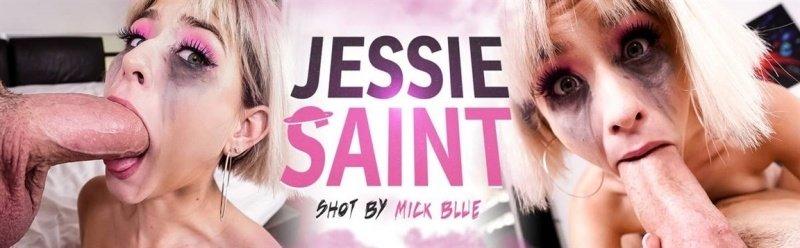 [Full HD] Jessie Saint - Jessie Saint Takes On 2 Cocks - Jessie Saint - SiteRip-00:23:20   Petite, Blowjob, Saliva - 1,2 GB