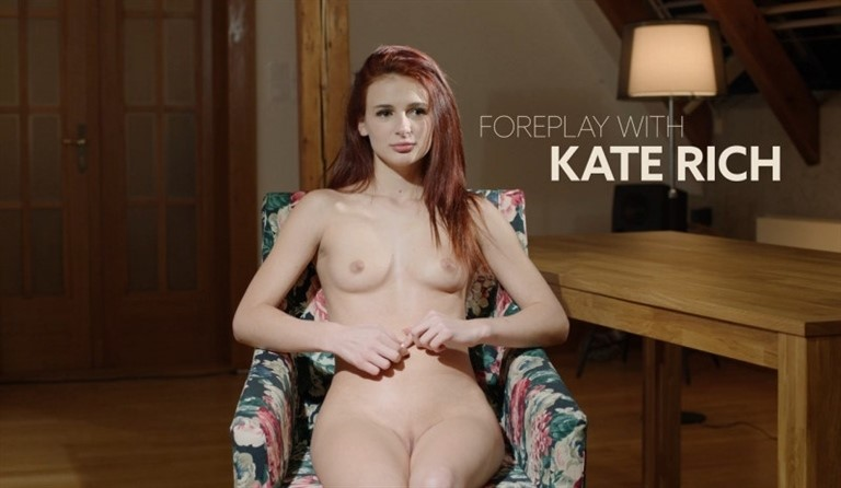 [HD] Kate Rich - Foreplay With Kate Rich Mix - SiteRip-00:15:36 | Interview Masturbation Solo - 252,8 MB