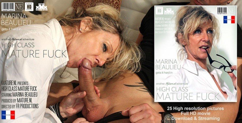 [Full HD] Marina Beaulieu - Classy MILF Gets A Hard Fuck In The Marina Beaulieu - SiteRip-00:29:40 | Milf, French, Shaved - 1,3 GB