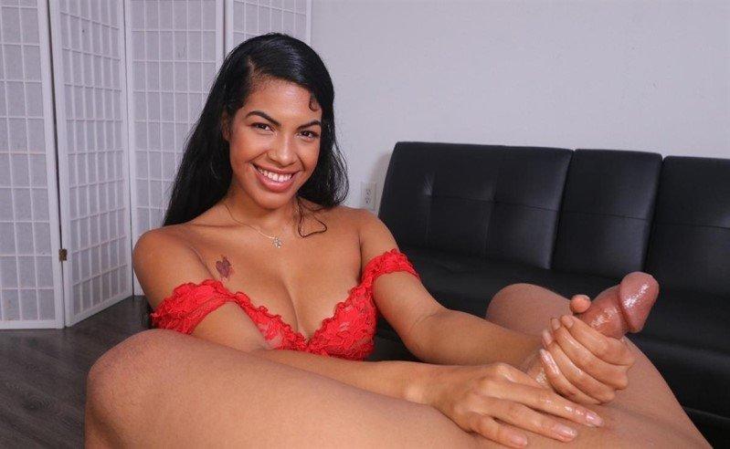 [Full HD] Maya Farrell - Cum Explosion - Mix - SiteRip-00:07:26   Handjob, Ebony - 222,4 MB
