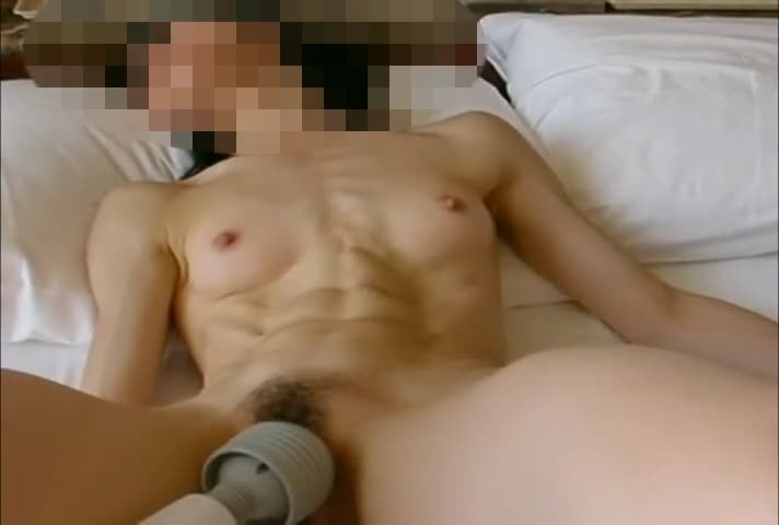 Slitely Ripped Muscle Asian 6