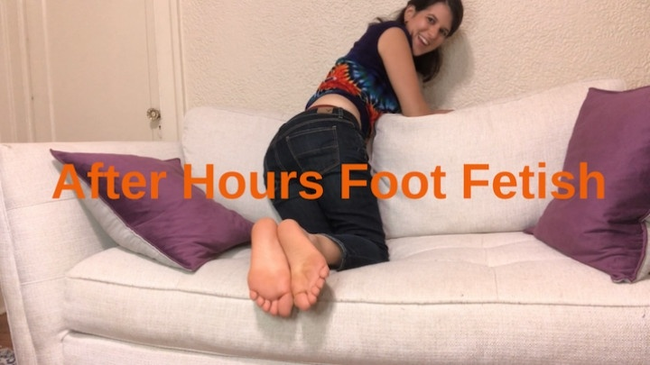 Smilesofsally After Hours Foot Fetish With Boss