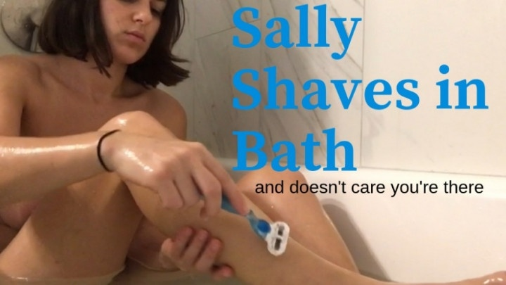 Smilesofsally Sally Shaving In Bath